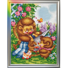 "Cross-Stitch Kit ""At My Grandpa's Place"" LanSvit D-010"