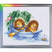 "Cross-Stitch Kit ""Dreaming of Sea"" LanSvit D-008"
