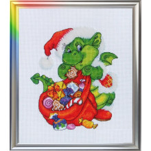 "Cross-Stitch Kit ""A Little Dragon"" LanSvit D-009"