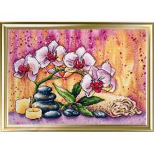 Набор для вышивания ЛанСвит, Магическая орхидея  (А-008)