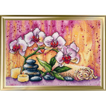 "Cross-Stitch Kit ""Magic orchid"" LanSvit A-008"