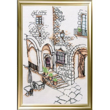 "Cross-Stitch Kit ""Patio in Spain"" LanSvit A-006"