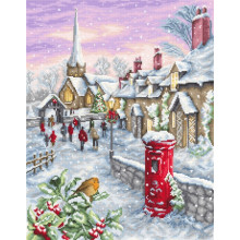 "Cross-Stitch Kit ""On Christmas Eve""  Luca-S (B2361)"