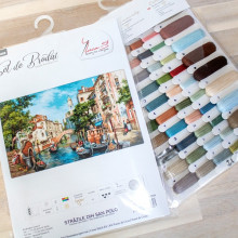 "Cross-Stitch Kit ""The Streets of San Polo""  Luca-S (B589)"